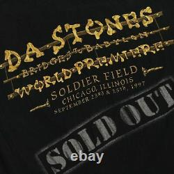 Vintage The Rolling Stones Bridges To Babylon 1997 T-shirt Taille Moyenne