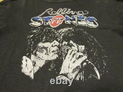 Vintage The Rolling Stones Chemise Années 1970 70 Mick Keith Rare
