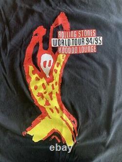 Vintage The Rolling Stones Voodoo Lounge Tour 1994 Authentique XL