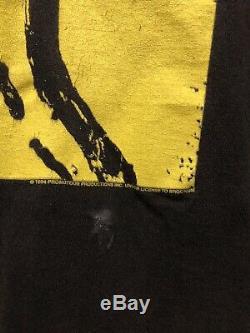 Voodoo Lounge Vintage Rolling Stones 1994 Tournée T-shirt XL Brockum Faded! Usé