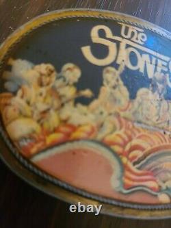 Vtg 1976 Pacifica The Stones Rolling Stones Ceinture Boucle