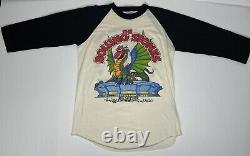 Vtg 1981 Rolling Stones Dragon American Rock Concert Tour T Shirt Band Large