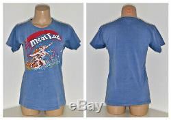 Vtg 80 Concert T-shirt Lot 6 Rolling Stones Grateful Dead Meat Loaf Def Leppard