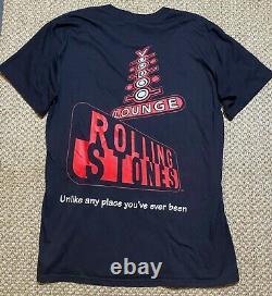 Vtg'94 The Rolling Stones Voodoo Lounge Tour Brockum Concert T-shirt Taille L